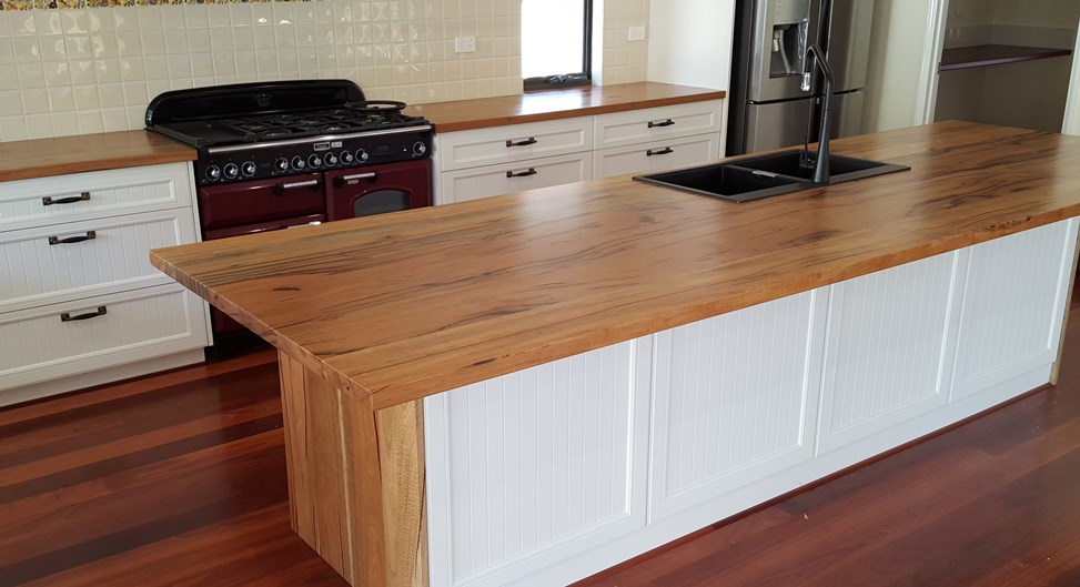Marri kitchen tops for Master Cabinets