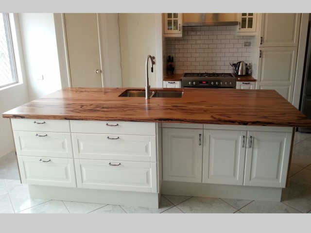 Marri kitchen island bench top